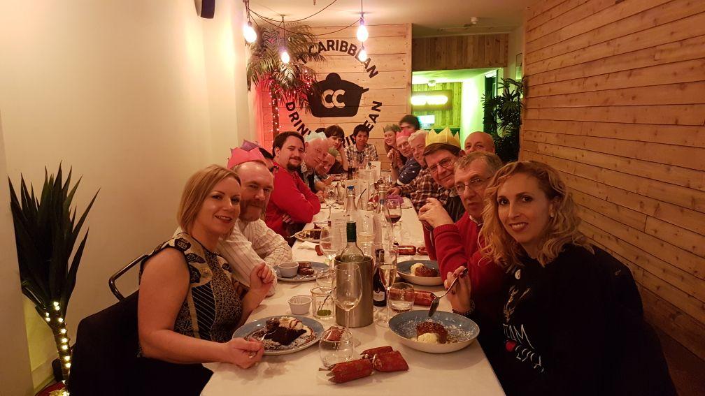 Christmas Dinner at Caribbean Croft