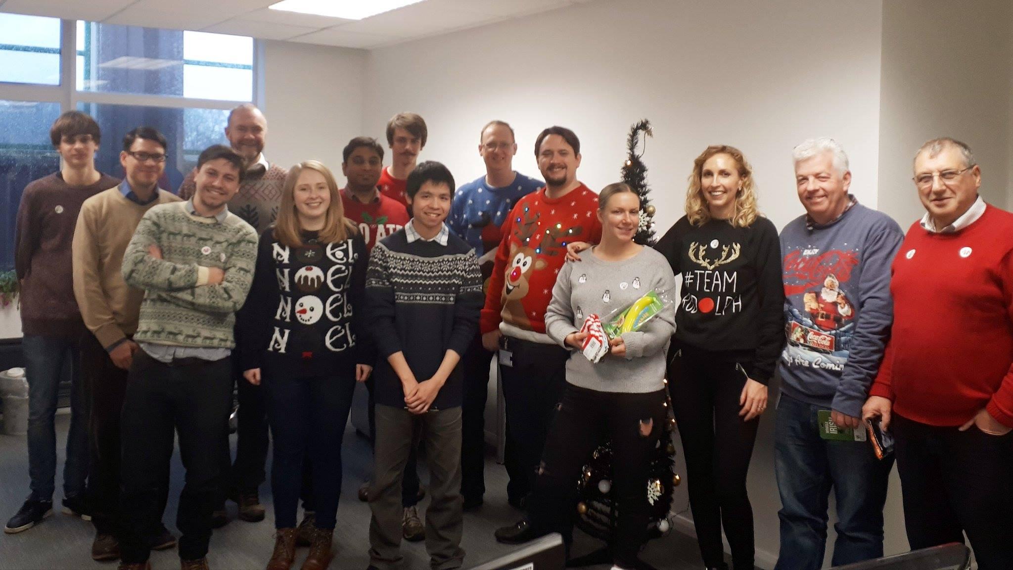 Christmas Jumper Day - Raising money for Save the Children