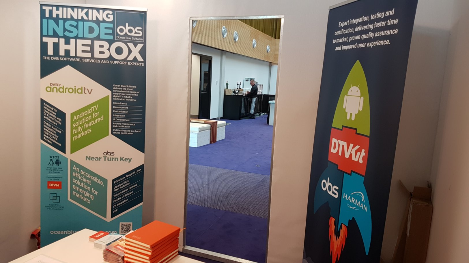 IBC meeting room 2018, located in the IABM members lounge.